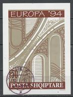 Albanie - Albanien - Albania Bloc Feuillet 1994 Y&T N°BF77 - Michel N°B101 (o) - 150l EUROPA - Albania