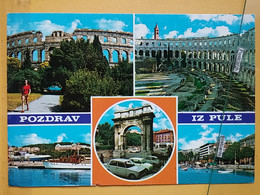 KOV 29-30 - PULA, Croatia, Istra, Arena, Amphithéâtre, Amphitheater - Croatia