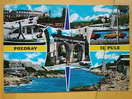 KOV 29-30 - PULA, Croatia, Istra, Arena, Amphithéâtre, Amphitheater, Auto - Croatia