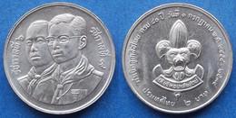 "THAILAND - 2 Baht BE2534 1991 ""Thai Boy Scouts"" Y# 240 - Edelweiss Coins - Thailand"
