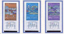 Hongrie ** 2091 à 2093 - 100e Ann. Du Timbre-poste Hongrois - - Unused Stamps