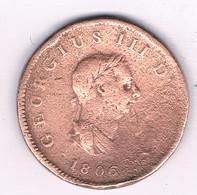 HALF PENNY 1806 GROOT-BRITANNIE /3241/ - B. 1/2 Penny