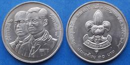 "THAILAND - 10 Baht BE2534 1991 ""Thai Boy Scouts"" Y# 241 - Edelweiss Coins - Thailand"
