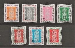 Mali Timbres Taxes 1961 YT 27/33 N** MNH - Mauritania (1960-...)