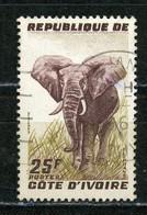 COTE D'IVOIRE - ELEPHANT - N° Yvert 178 Obli. - Ivory Coast (1960-...)