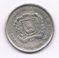 25 CENTAVOS 1976 DOMINICAANSE REPUBLIEK /3252/ - Dominicana