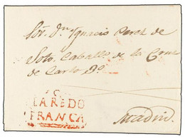 SPAIN: PREPHILATELIC MARKS  DP11 VIZCAYA - ...-1850 Prephilately