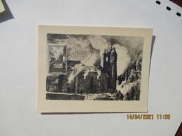 1945 Oradour Sur Glane   C M C  M Carte Maximum - 1940-49