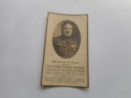 D.P.-OUD STIJDER 1914-18GUSTAVE-LOUIS RADAR°HANNUIT 17-8-1886+COUCKELAERE 6-5-1931 - Religión & Esoterismo