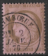 France - N° 54 - Cérés 10c  - Oblitéré - - 1871-1875 Cérès