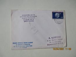 Greve P T T Ptt Lettre Acheminee Chambre Commerce Franco Allemande Lettre - 1961-....