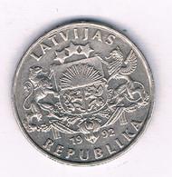 1 LATS 1992 LETLAND /3257/ - Latvia