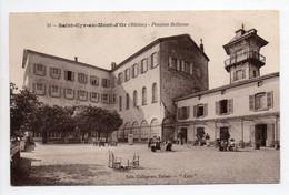 - CPA SAINT-CYR-AU-MONT-D'OR (69) - Pension Bellevue 1914 (avec Personnages) - Edition COLLIGNON N° 31 - - Sonstige Gemeinden
