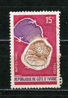 COTE D'IVOIRE : COQUILLAGE -  N° Yvert 337 Obli. - Ivory Coast (1960-...)