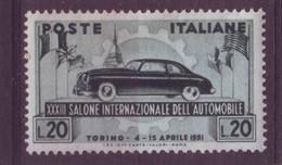 Italie Y&T N° 593 Neuf Trace De Charnière - 1946-60: Nieuw/plakker
