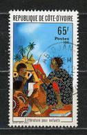 COTE D'IVOIRE : LITTERATURE POUR ENFANTS -  N° Yvert 405 Obli. - Ivory Coast (1960-...)