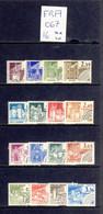 France - Yvert Preo 162-165, 166-169, 170-173 Et 174-177 Neufs Sans Charnière - Scott#1683/1817 MNH - Châteaux - 1964-1988