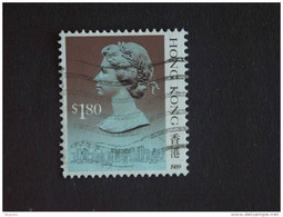 Hongkong Hong Kong 1989 Elizabeth II Et Vues De La Ville Yv 569 O - Gebraucht