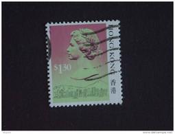 Hongkong Hong Kong 1987 Elizabeth II Et Vues De La Ville Yv 507 O - Gebraucht