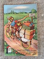 35 - DINARD - Carte à Système - 10 Petites Vues - Tandem - Campeurs - Dinard
