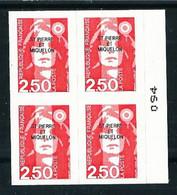 St. Pedro Y Miquelón Nº 557 (bloque-4) Nuevo - Unused Stamps