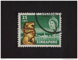 Singapore Singapour 1959 Nouvelle Constitution Yv 46 O - Singapur (1959-...)