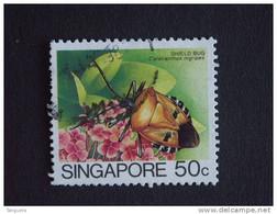 Singapore Singapour 1985 Catacanthus Shield Bug  Yv 461 O - Singapur (1959-...)