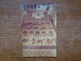 "Jordanie , Mount Nebo , Siyagha , The Mosaic Floor Of The Ancient Baptistry Chapel  """""" Beau Timbre Et Cachet """""" - Jordan"