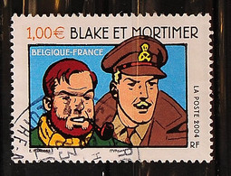 FRANCE 2004 - N° 3670 - Blake Et Mortimer - Cachet à Date - Used Stamps