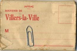 Villers-La-Ville :  Souvernir De ( Petit Carnet 9 X 6 Cm Avec 10 Images ( Edition NELS  HOTTON  )  3 Scans - Villers-la-Ville