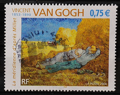 FRANCE 2004 - Cachet à Date N° 3690 - Vincent Van Gogh - Used Stamps