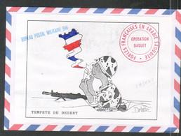 Militaria, Illustration, Philippe Delestre, Tempete Du Desert, Operation Daguet, BPM 640 - Historical Documents