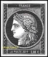 France N° 5305 ** 170 Ans Du Premier Timbre-poste Français Cérès, Pour Lettre TVP Verte - Ongebruikt