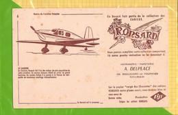 BUVARD : Cahiers RONSARD Aviation  Le CAUDRON  N°6  ROUBAIX - Stationeries (flat Articles)