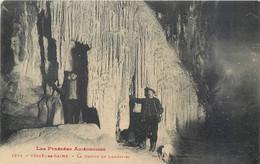 CPA 09 Ariège Ussat Les Bains La Grotte De Lombrives - Otros Municipios