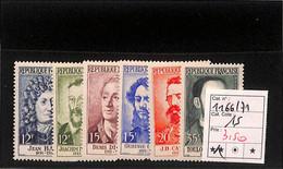 D - [816477]TB//**/Mnh-c:15e-France 1958 - N° 116671,  Célébrités, SC - Nuovi