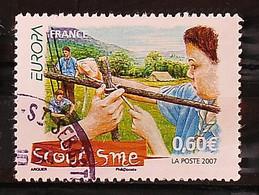FRANCE 2007 - Le Scoutisme N° 4049 - Cachet à Date - Usados
