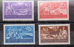 Liechtenstein Serie Nº Yvert 137/40 ** - Ungebraucht
