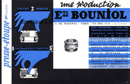 Buvard Produit Bricolage Presse Etoupe Bouniol Paris Boulon Serrage - B