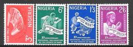 Nigeria N° 149/52 Yvert NEUF * - Nigeria (1961-...)
