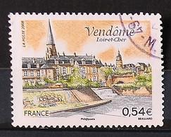 FRANCE 2008 - Cachet à Date N° 4143 - Vendôme - Usati