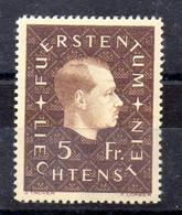 Liechtenstein Serie Nº Yvert 158 ** - Ungebraucht