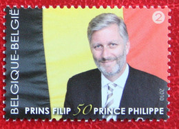 Prince Philippe Royals OBC 4035 (Mi 4081) 2010 POSTFRIS MNH ** BELGIE BELGIEN / BELGIUM - Unused Stamps