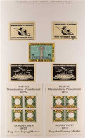 CINDERELLAS 19th Century To 1990's FASCINATING WORLD COLLECTION In An Album, Mint & Used Mostly All Different Stamps And - Non Classificati