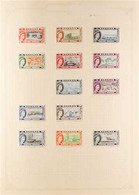 """BRITISH COMMONWEALTH 1937-1970 MINT ONLY COLLECTION Presented In A """"Simplex"""" Spring Back Album, ALL DIFFERENT And Small  - Non Classificati"""