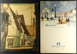 SHIPS DINNER MENUS Includes 1948 RMS Alcantara, 1950 & 1966 RMS Queen Mary, 1956 RMS Queen Elizabeth And 1958 RMMV Capet - Non Classificati