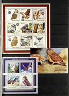 BIRDS OF GUINE-BISSAU 1978-2009 NEVER HINGED MINT All Different Collection Of Sheetlets And Miniature Sheets (plus A Few - Non Classificati