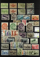 HORSES RUSSIA 1904-2003 Fine Mint And Used Collection On Stock Pages, All Stamps Featuring Animals From The Horse Family - Non Classificati