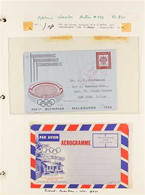 OLYMPIC GAMES AUSTRALIA 1938-2000 Thematic Collection Of Never Hinged Mint Stamps, Covers And Cards, Postal Stationery,  - Non Classificati