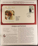 POPE JOHN PAUL II 2005 World Collection Of All Different Illustrated 'Official International Tributes' First Day Covers  - Non Classificati